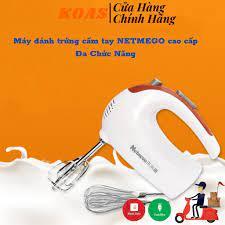 Máy Đánh Trứng Cầm Tay Netmego N38D 300W Đa Chức Năng Bảo Hành Lỗi 1 Đổi 1  - Máy xay sinh tố