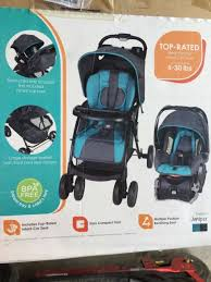 new baby trend venture travel system juniper teal gray