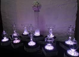 froth bubble chandelier table centrepieces