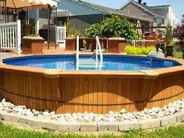 above ground pools decorating ideas. Unique Above Metal Sided Above Ground Pools Splendid Astonishing Moraethnic Decorating  Ideas 5 For I