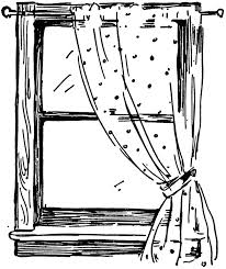 window clipart black and white. Plain Clipart Intended Window Clipart Black And White W