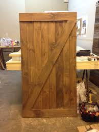 z pattern barn door
