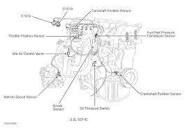 where is the crankshaft position sensor located on 03 focus attached image