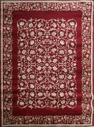 this area rug collection features vibrant colors and beautiful designs unsurpassed by any other area rug collection this rug has a hand knotted fringe