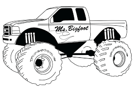 printable colouring pages of trucks printable homely ideas monster truck colouring pages to print coloring at printable colouring pages of trucks