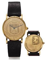 17 best ideas about president of america antiquorum corum president of chaim weizmann watch corum coin like wristwatch