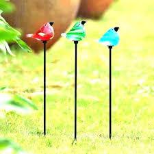metal garden stake metal garden stakes yard art heart using for lighted stake metal garden stakes