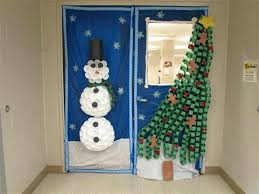 holiday door decorating ideas. Winter Door Decorations Holiday Nightmare Before Inspired  For School . Decorating Ideas A