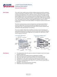 Danfoss Orifice Sizing Chart Kw Motor Pistones Danfoss L By Hidrafluid Issuu