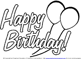 Small Picture Happy Birthday Coloring Pages Bebo Pandco