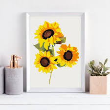 A flower is the reproductive organ of those plants classified as angiosperms. Sunflowers Color By Number Kit Printable Flower Color By Etsy