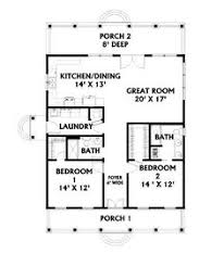 2 bedroom home plans. 2 bedroom, open floor plan but i think would lengthen it \u0026 add another bedroom home plans t