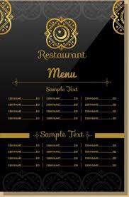 Resturant Menu Template Top 25 Free Paid Restaurant Menu Templates