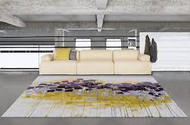 modern fl wool rug