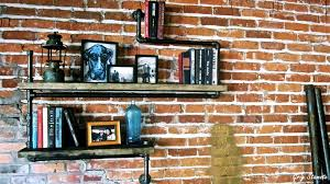 Pvc Pipe Bookshelf How To Use Pipe Shelving Around The House Youtube