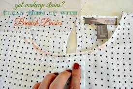how to get makeup out of shirt geek