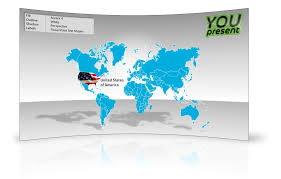Map Of The World For Powerpoint World Map Template For Powerpoint Youpresent