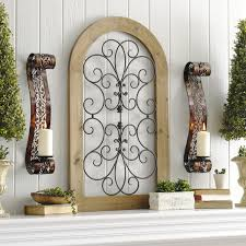 ideas wall sconces decorating wall sconces lighting. Decorate With Wall Sconces And Metal Arch On Mantel Kirklandu0027s Ideas Decorating Lighting N