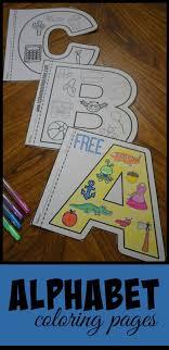 Printable alphabet activity worksheets for toddlers & preschool. Alphabet Coloring Page 1 Line 17qq Com