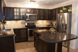 dark walnut kitchen cabinets warm colors for kitchen walls best kitchen paint colors popular kitchen colors