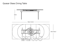 quasar glass italian extension dining table by naos quasar glass extension dining table by naos