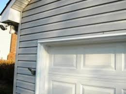 recently i ve spoken to several folks in a nearby neighborhood all with a similar problem their garage doors were framed and then cladded with aluminum