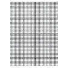 Grid Paper To Print Downloadable Graph A Sheet Of One