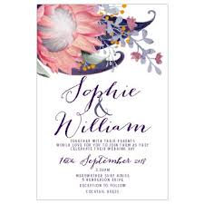 sajaro invitations \u2022 wedding invitation specialist Wedding Invitations Newcastle Nsw protea watercolour wedding invitation wedding stationery newcastle nsw
