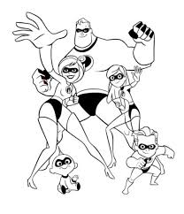 Small Picture nemo coloring pages to print The Incredibles Printable