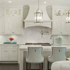 backsplash ideas for off white cabinets. Exellent White White Herringbone Backsplash With Off Kitchen Cabinets For Ideas S