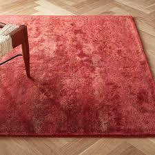 atossa faded red rug