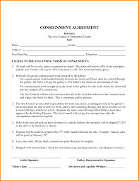 Sample Consignment Agreement Template Agreement Templates Consignment Agreement Form Consignment Inside 2