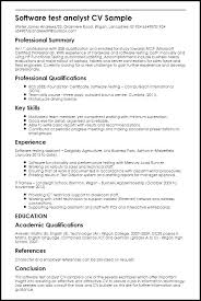 software testing resume samples manual testing sample resume tehnolife
