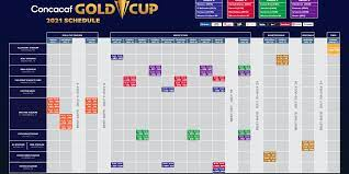 Concacaf unveils full Gold Cup schedule ...