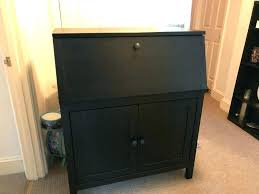 hemnes secretary desk secretary desk add on unit ergonomic bureau desk black brown hemnes secretary desk