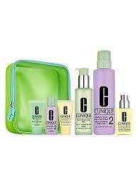 <b>Clinique</b> - Great Skin Everywhere: (Skin Types 1, 2) <b>3</b>-<b>Step</b> Dry 7 ...