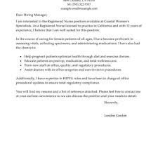 Informatics Nurse Cover Letter Modern Resume Templates