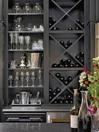 Wine Rack - Wet Bar - Built-In Bookshelf - Home Organization - Interior  Design