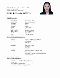 Stirring Resume Sample Pdf Freeoad Format Philippines Samples For