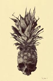 realistic pineapple drawing. crananas drawing by rémi andron realistic pineapple y