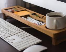 office desk storage. exellent desk cherry wood office desk organizer desktop shelf home  keyboard rack wooden storage accessories in