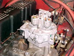 throttle body injection jeep owners howell tbi mounted on intake manifold