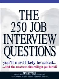 Job Interview Books The 250 Job Interview Questions Oregon Digital Library Consortium