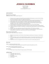 Massage Therapist Resume Example Gallery Of Physical Therapy Resume