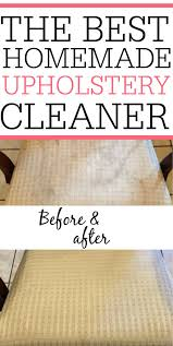 diy upholstery cleaner