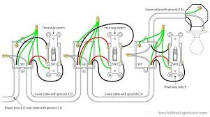 4 way switch wiring diagram multiple lights electrical single light Electrical Outlet Wiring Diagram 4 way switch wiring diagram multiple lights electrical single light power via lighting 5ac2e95439ea5 random 2