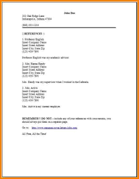 Resume Reference Page Best Reference Page In Resume Holaklonecco