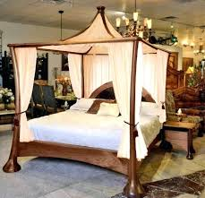 Canopied Bed Canopy Tops For Beds Steel Canopy Bed Rustic Bedroom ...