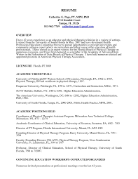 Physical Therapy Resume Elegant Respiratory Therapist Resume