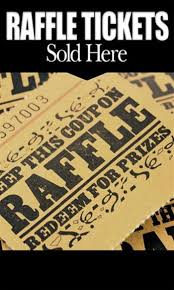 raffle sign raffle tickets sponsor sign golf digest tournament shop